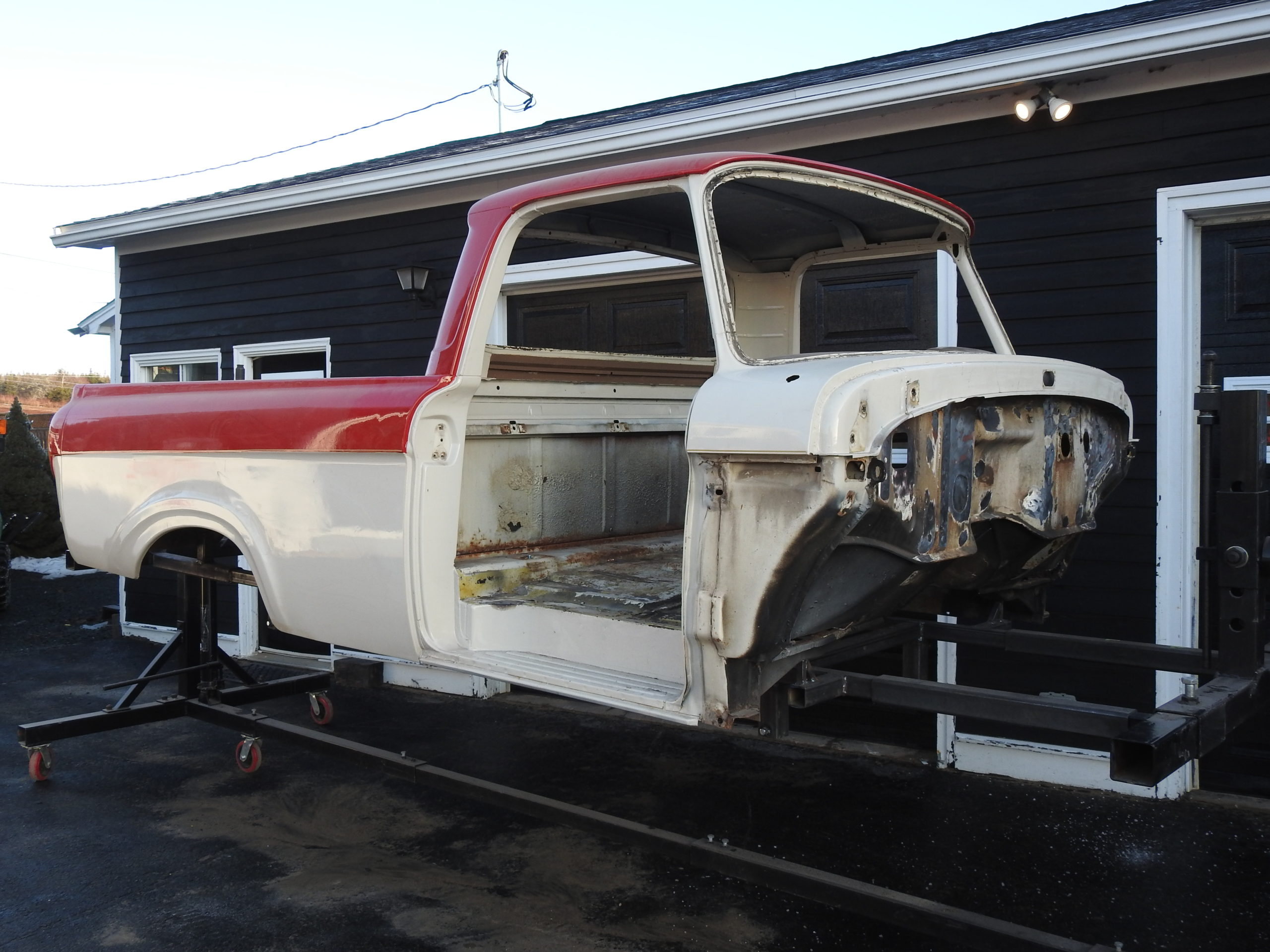 Ford Body before