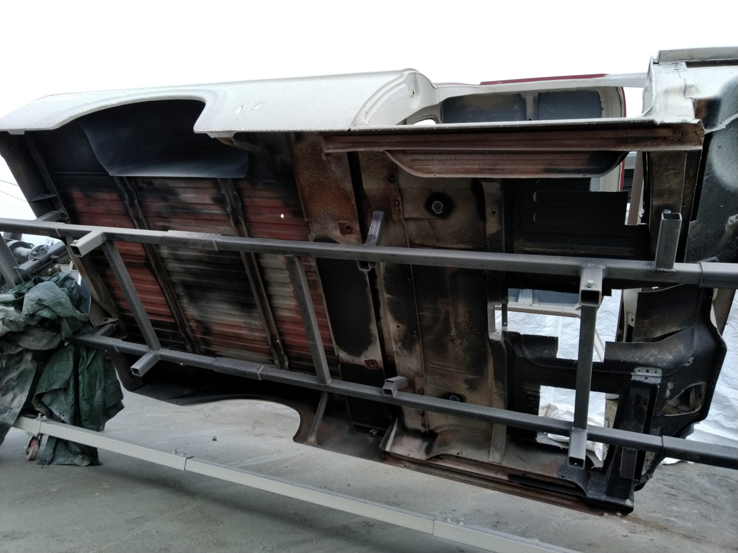 ford underside before