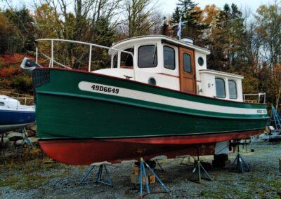 Maritime Blasting tug before
