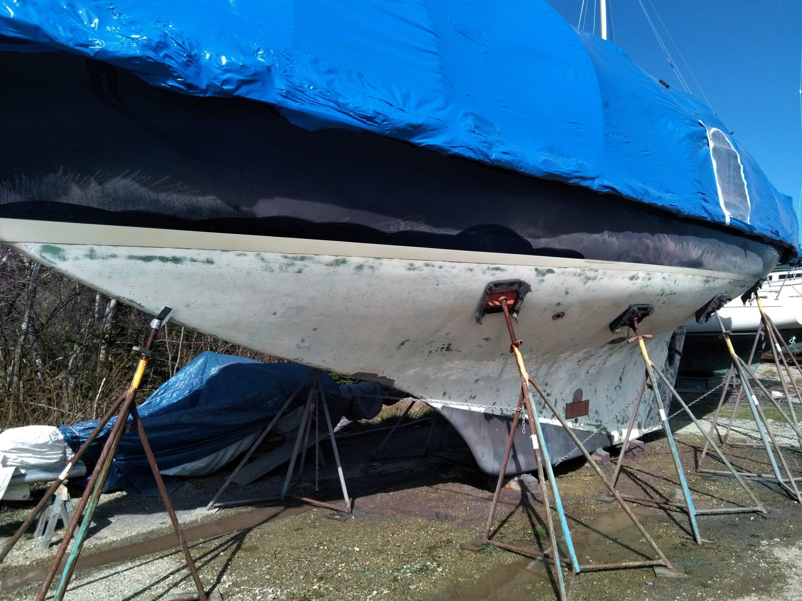 Maritime Blasting Sail boat 1 after